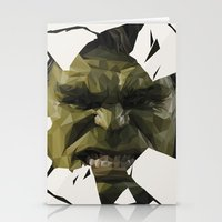 hulk Stationery Cards featuring Hulk by s2lart