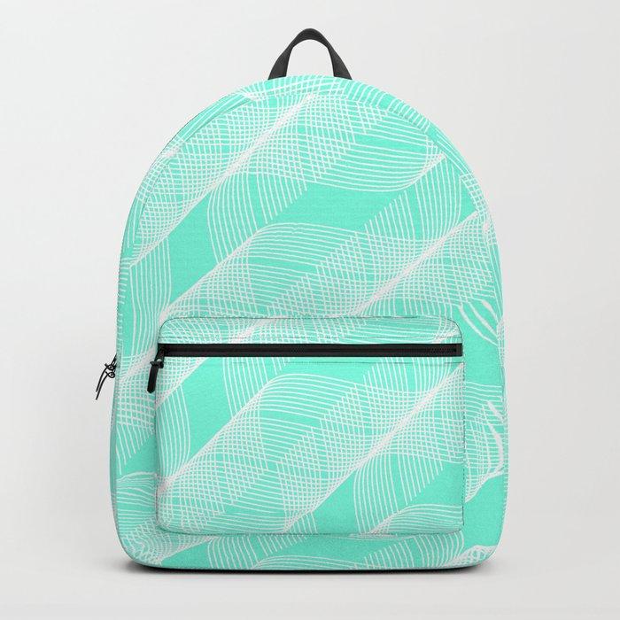 Green Mint Helix Backpack