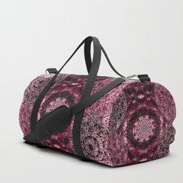 Claret Lace Mandalas Duffle Bag