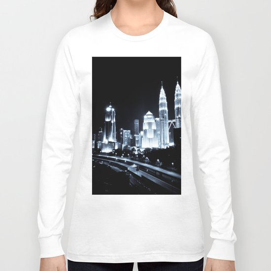 Kuala Lumpur night Long Sleeve T-shirt