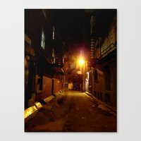shadow Canvas Prints featuring SHADOW by Christophe Chiozzi