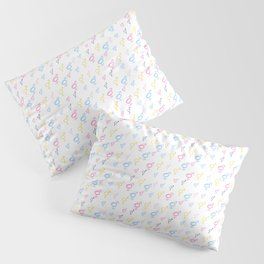 Symbol of Transgender 72 multicolor Pillow Sham