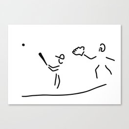 baseball usa sport Canvas Print