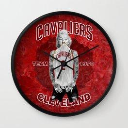 Marilyn cleveland team Wall Clock
