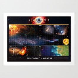 Cosmic Calendar 2020 — Cosmos: Possible Worlds Art Print
