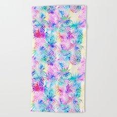 Pineapple Dream Beach Towel