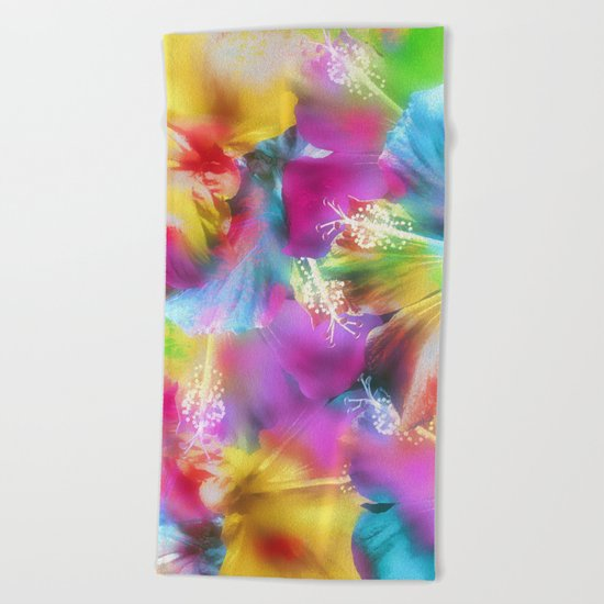 Hibiscus Dream  Beach Towel