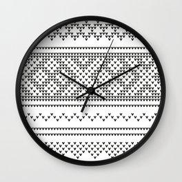 Northern Knit III Wall Clock