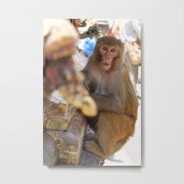Monkey Temple | Kathmandu Metal Print