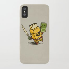 Cyber Pirate iPhone Case