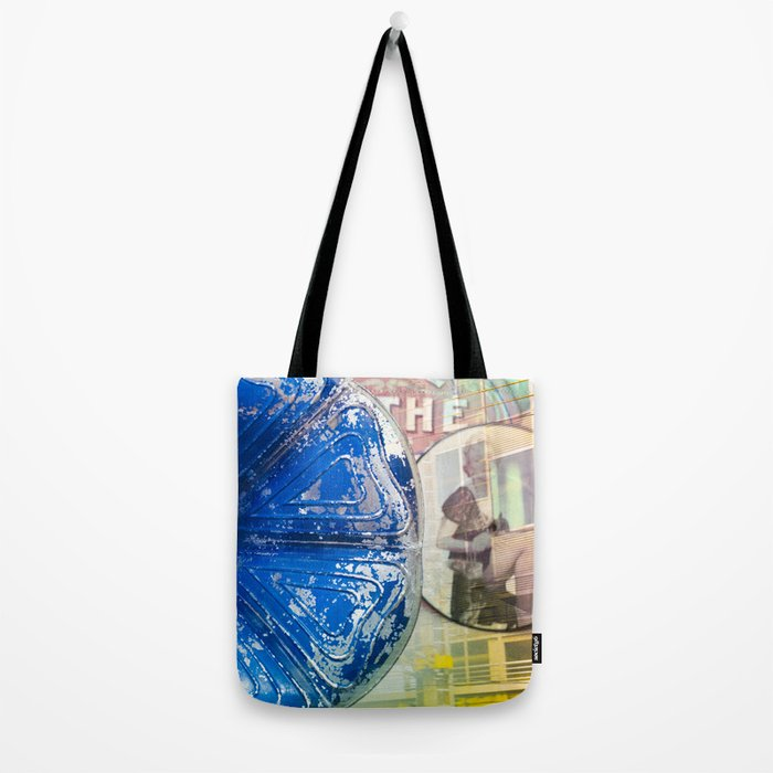 Musical Blue Mood, Flowers Photography Tote Bag