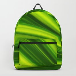 Abstract green 209 Backpack