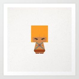 THE MAN Art Print