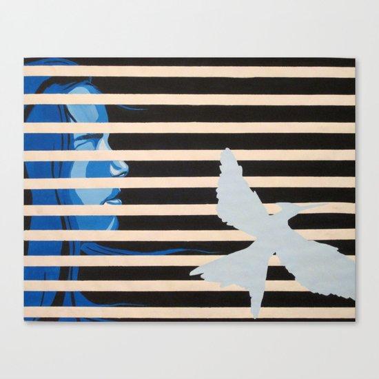Mockingjay Canvas Print