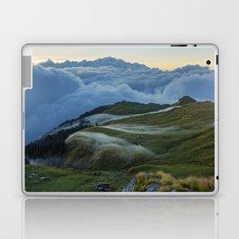 The Alpine Pastures of Rudranath Laptop & iPad Skin