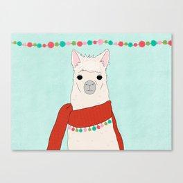 Llama Days Canvas Print