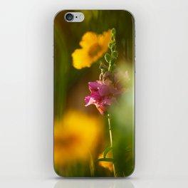 Pink Snapdragon Flower iPhone Skin