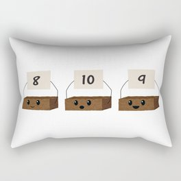 Brownie Points Rectangular Pillow
