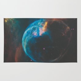 Bubble Nebula Space Rug
