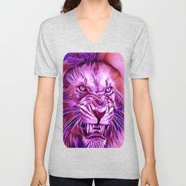 Lion - King of The Beasts Unisex V-Neck