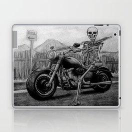 Skeleton Fat Boy Laptop & iPad Skin