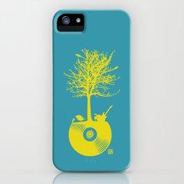 Vinyl Tree iPhone Case