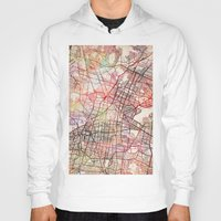 mexico Hoodies featuring Mexico by MapMapMaps.Watercolors