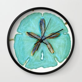 Sand Dollar Star Attraction Wall Clock