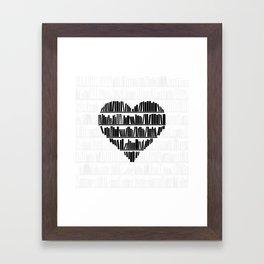 Book Lover II Framed Art Print