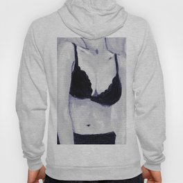 Getting Ready - Figurative Oil Painting Hoody