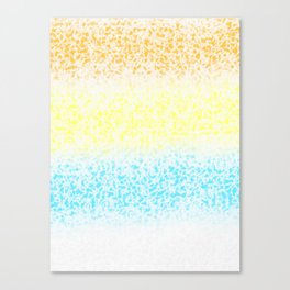Surf on Colors (1) Canvas Print