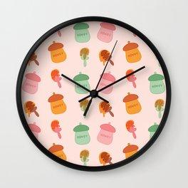 Honey P Wall Clock
