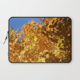 Fall leaves yellow Laptop Sleeve