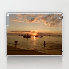 Stonetown Sunset Laptop & iPad Skin