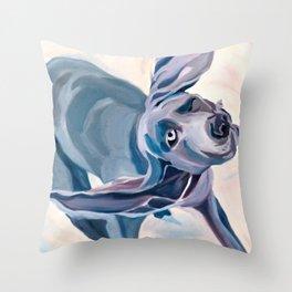 Great Dane Dog Shake Throw Pillow