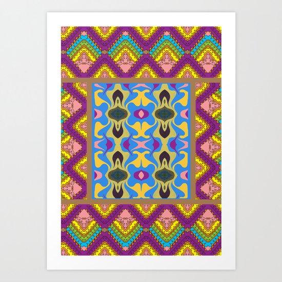 Decorative panel Art Print