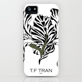T.F TRAN CLASSIC IRIS iPhone Case