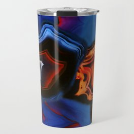 Agate, What springs from Earth dissolves to Earth again Travel Mug
