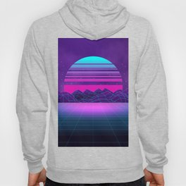 Future Sunset Vaporwave Aesthetic Hoody