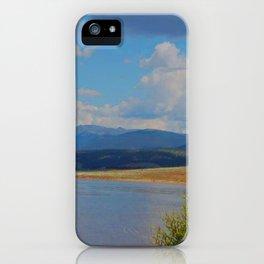 Shadow Mountain Lake, Colorado  iPhone Case