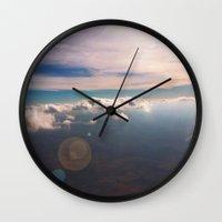 houston Wall Clocks featuring Houston by wendygray