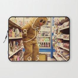 Gingerbread Man At Large Pt2 Laptop Sleeve