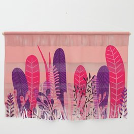 Pink plant Wall Hanging
