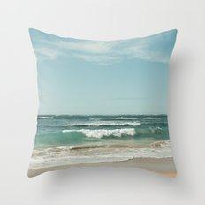 The Ocean of Joy Throw Pillow