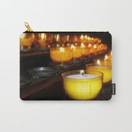 Church Candles Carry-All Pouch