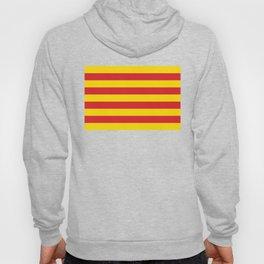 Catalan Flag - Senyera - Authentic High Quality Hoody