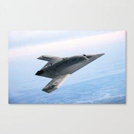 Northrop Grumman Stealth Fighter Canvas Print