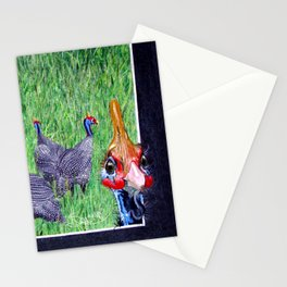 Oi them's my girls, 'ands Orf! Stationery Cards