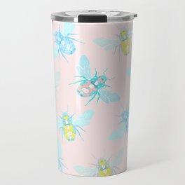 Bee Pattern Travel Mug