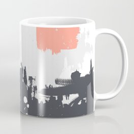 Abstract Paint Pattern 01 Coffee Mug